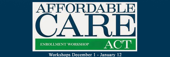 Affordable Care Act Enrollment Workshops
