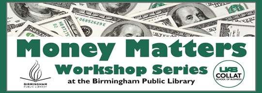 Money Matters Workshop Series
