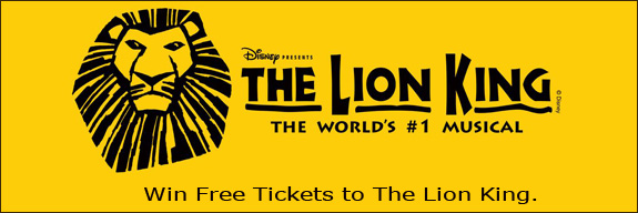 Win Lion King Tickets