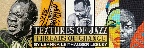 Textures of Jazz Exhibit