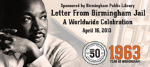 Letter From Birmingham Jail Logo