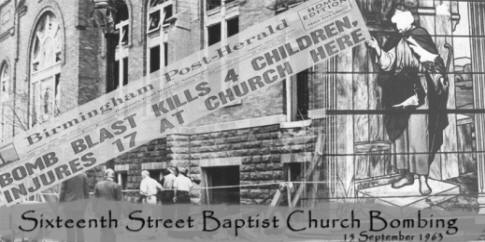 BPL Digital Collections -- Sixteenth Street Baptist Church Bombing