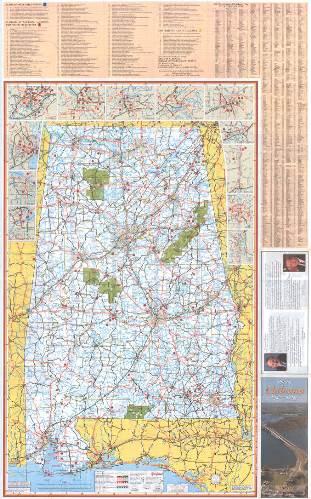 Alabama Galleries Birmingham Public Library - Alabama highway map
